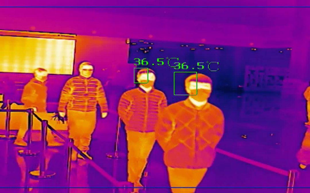 Prevención COVID 19 con Cámaras Termográficas Hikvision